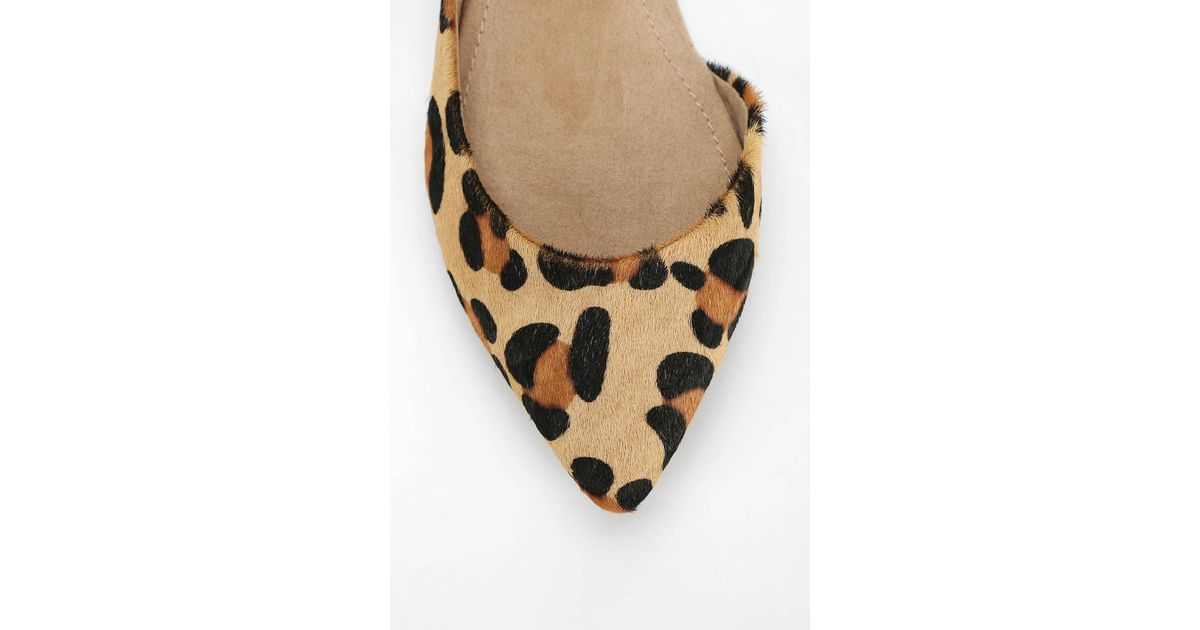 f5d6ee3eca4 Steve Madden Multicolor Elusion Leopard Print Dorsay Flat