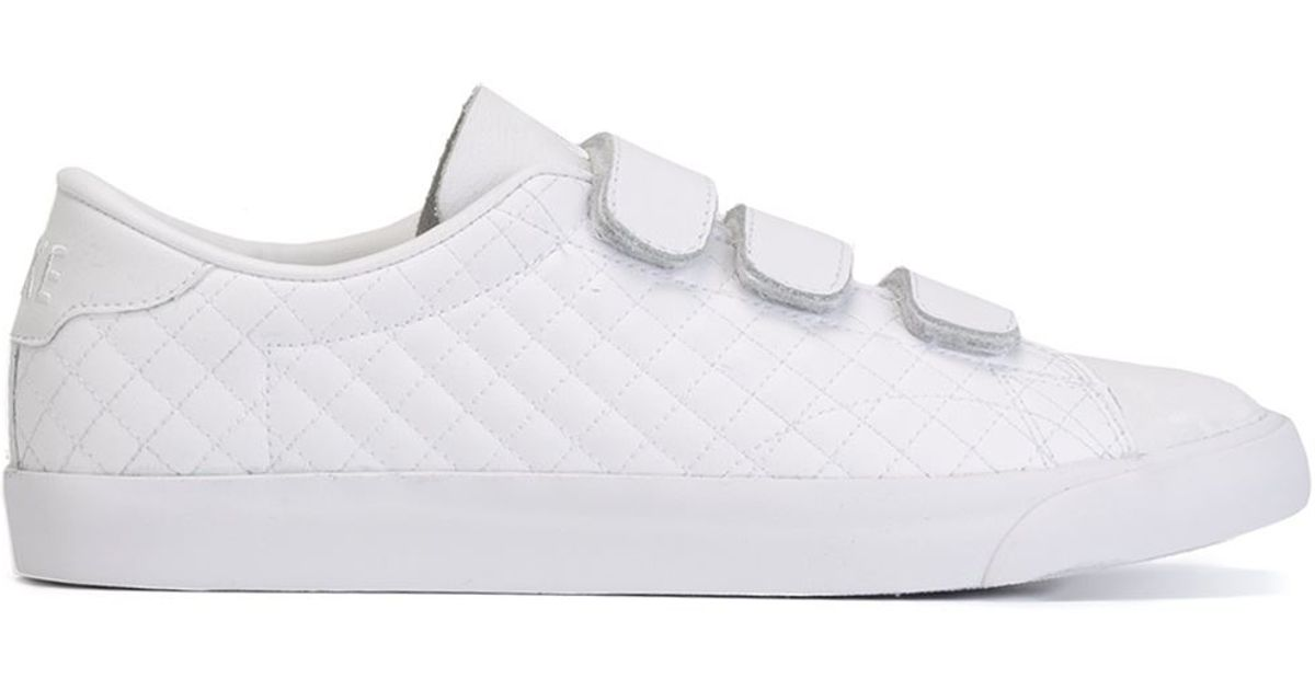 on wholesale official photos beauty Nike White Tennis Classic AC V Low-Top Sneakers for men