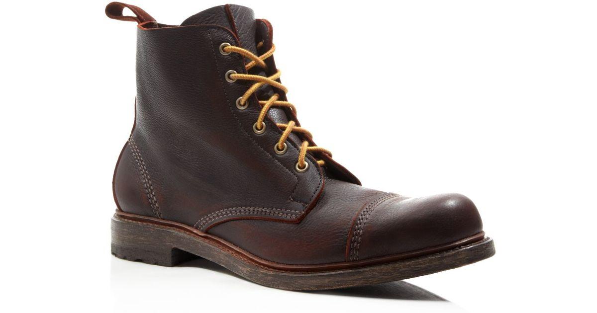 20a9a1b19b7 Allen Edmonds Brown Normandy Boots