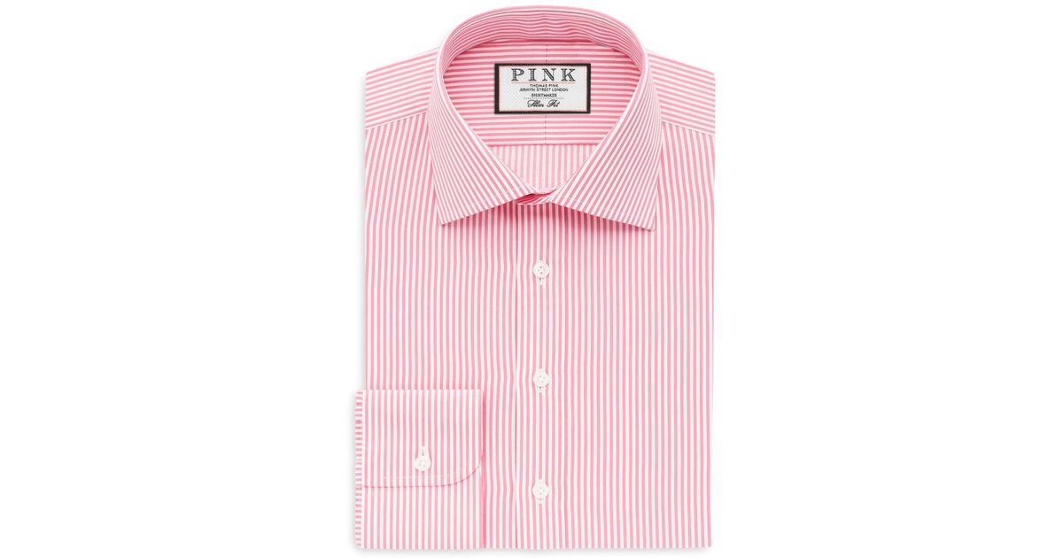 Thomas Pink Grant Stripe Dress Shirt Bloomingdale 39 S