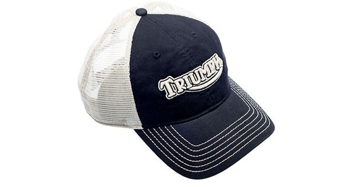 08343bd11 Lucky Brand Black Triumph Logo Baseball Cap for men