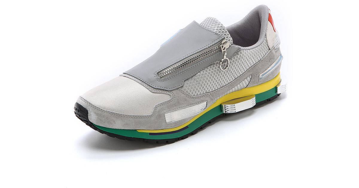 best loved 4a82a 8d368 Adidas By Raf Simons Metallic Rising Star 1 Sneakers for men
