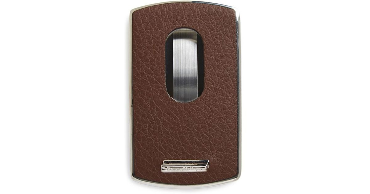Ermenegildo zegna \'Hamptons\' Business Card Holder in Brown for Men ...
