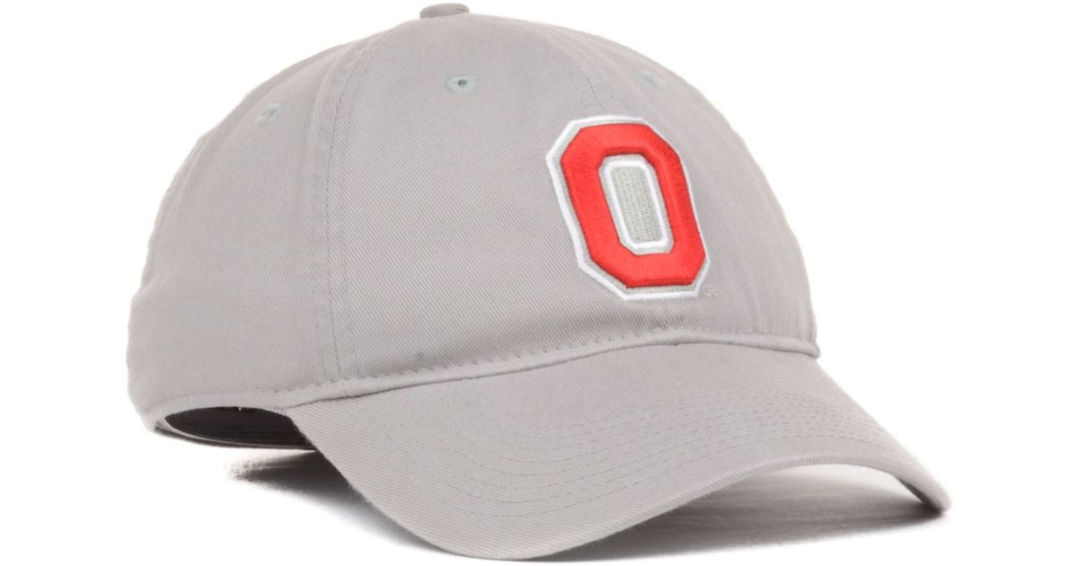 7734b40208c Lyst - Nike Ohio State Buckeyes Nts Stretchfitted Cap in Gray for Men