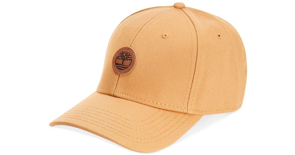 d5b8ab95b Timberland Natural Cotton Baseball Cap for men