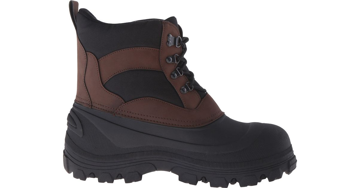 Tundra Boots Bristol In Black For Men Lyst