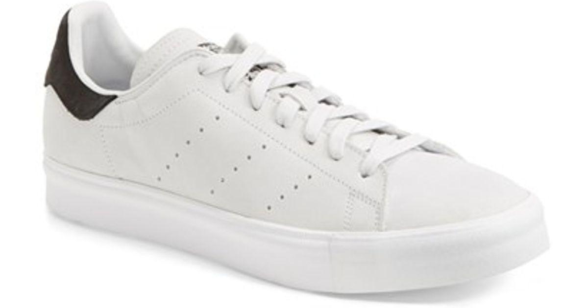 reputable site cc018 3e8df Adidas - White Men'S 'Stan Smith' Nubuck Sneaker for Men - Lyst