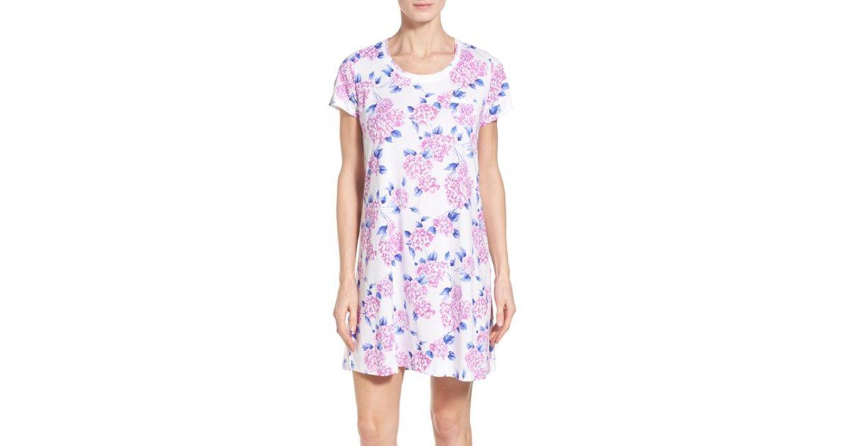 2ad1d6ba321d Lyst - Carole Hochman Sleep Shirt