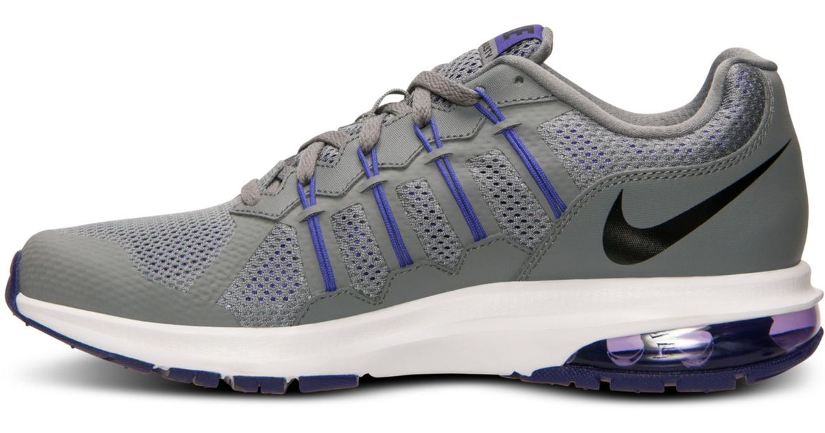 58408a0949b2b Lyst - Nike Women s Air Max Dynasty Running Sneakers From Finish Line in  Gray