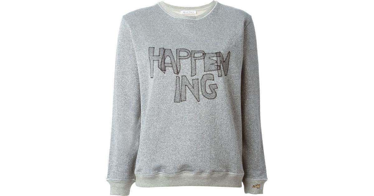 glitter sweatshirt O9KRnKA