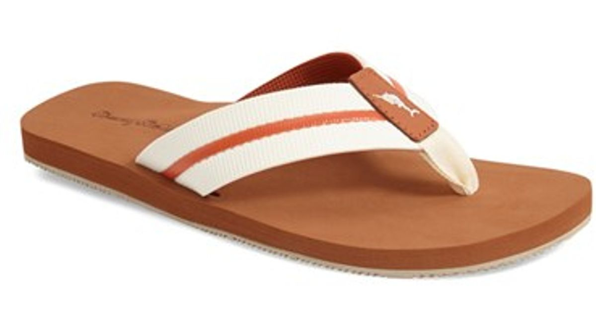 453ab681e2ee Lyst - Tommy Bahama  taheeti  Flip Flop in White for Men
