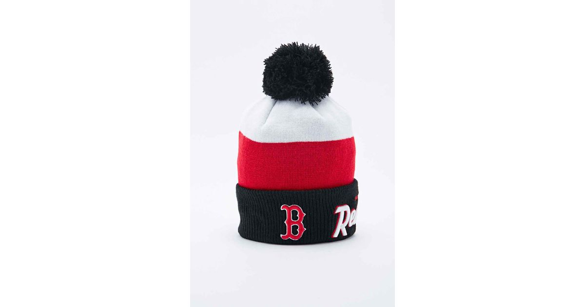 online store c1f48 4aac0 ... reduced new era team arch chicago white sox bobble hat lyst ktz red sox bobble  hat cheapest 2018 new young ...