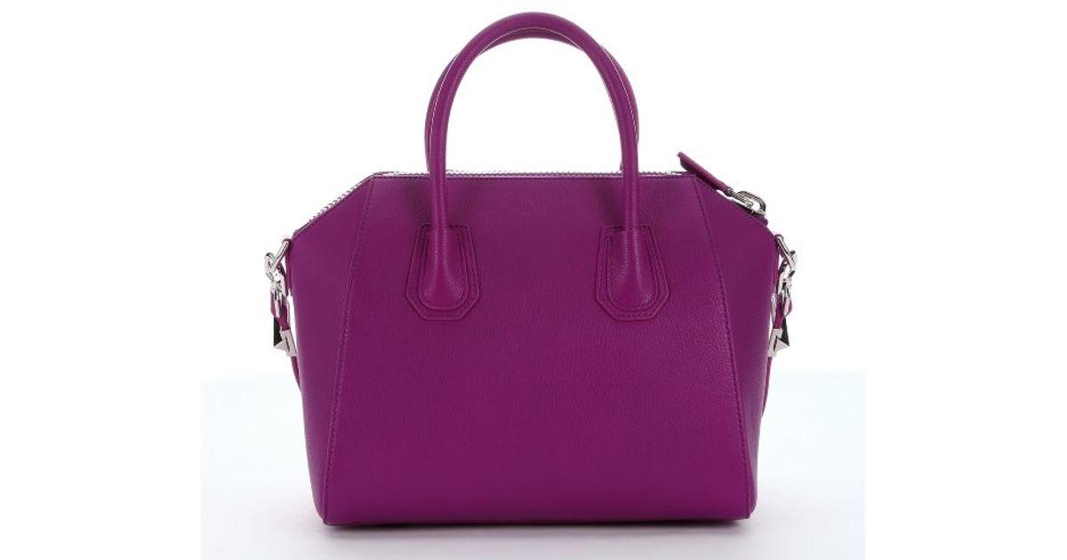 Givenchy Carré Sac Fourre-tout En Forme - Rose Et Violet Livraison Gratuite Geniue Stockiste Vue Pas Cher qAHE5r