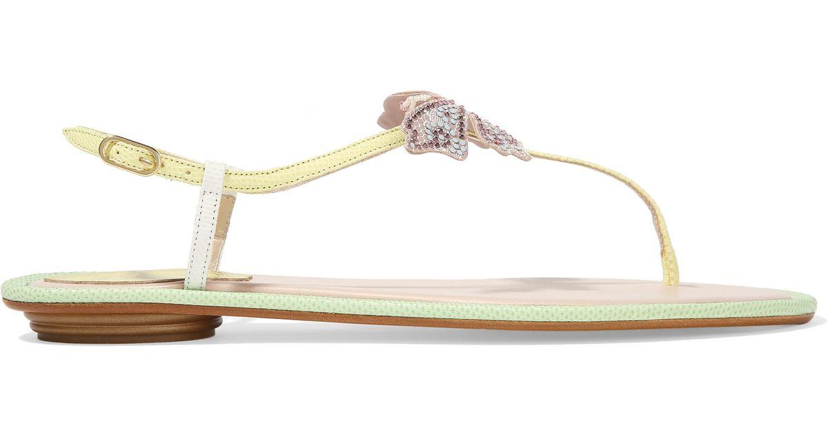 RENé CAOVILLA Karung sandals wqCbry