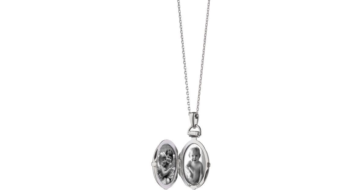 Monica Rich Kosann Petite Bridle Locket Necklace BZsiKHi