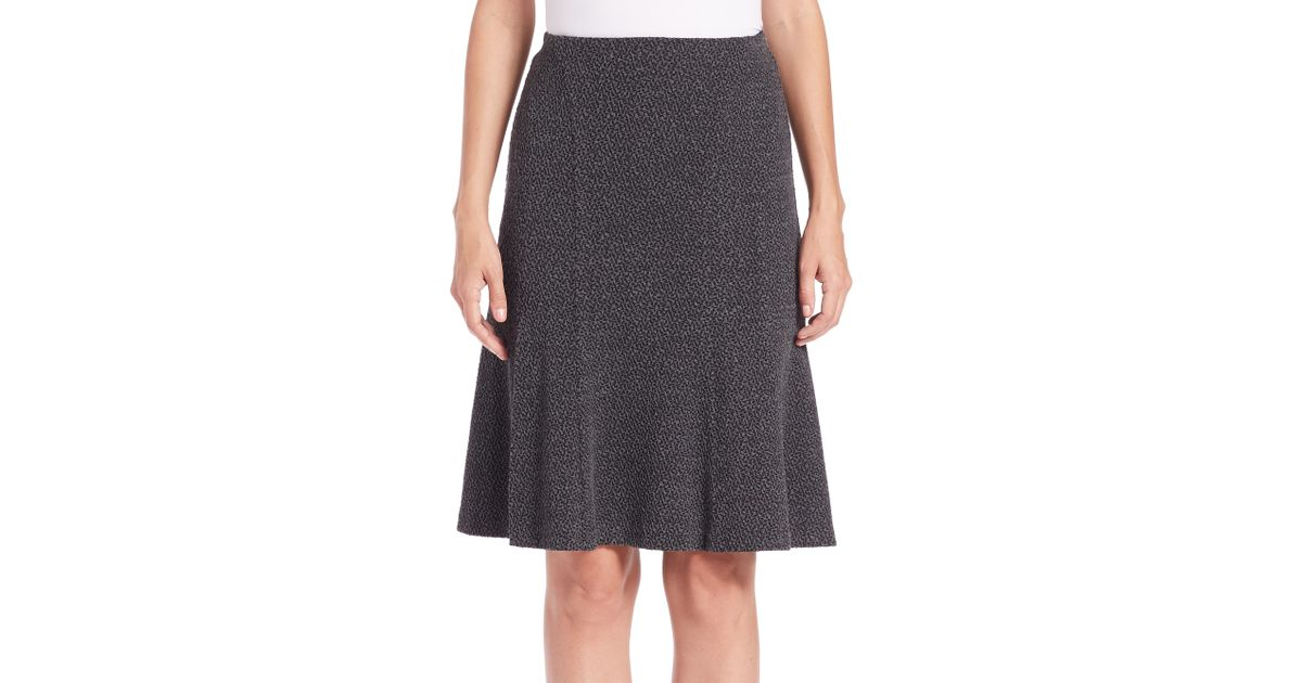 Kasper Zig Zag Jacquard Slim Skirt belk