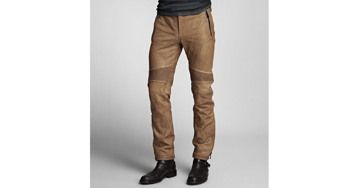 0ca05441e941 Lyst - Belstaff Westmore Trousers in Natural for Men