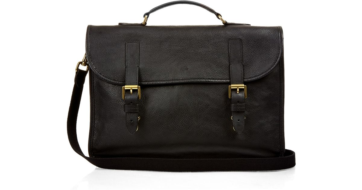 7220e23b326c Lyst - Mulberry Elkington Grained-leather Briefcase in Black for Men