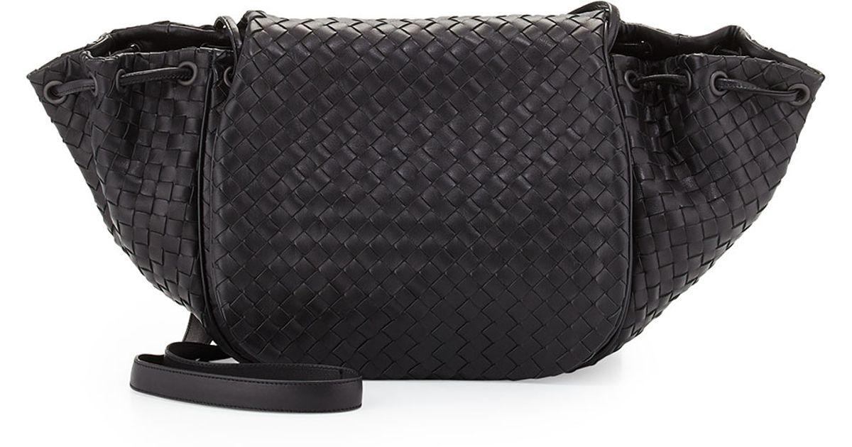... Lyst - Bottega Veneta Intrecciato Medium Flap Messenger Bag more photos  17985 1816e ... 17b79682cd5d3