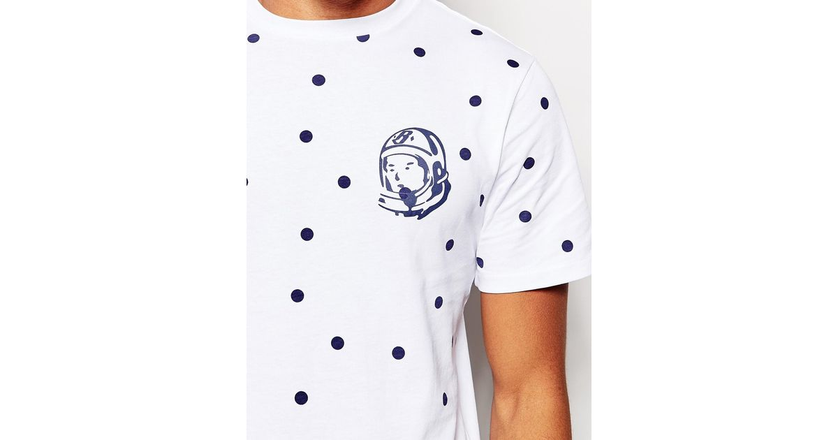 4e42194e5 BBCICECREAM T-shirt In Polka Dot With Arch Logo in White for Men - Lyst