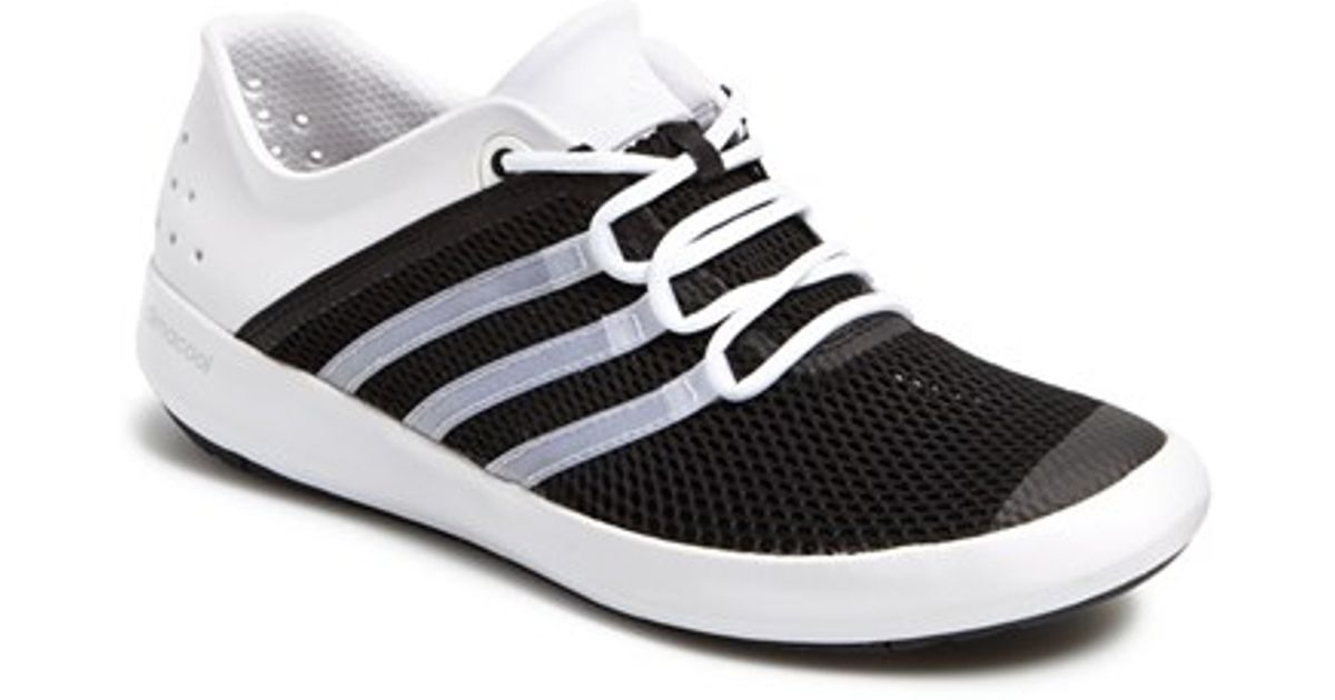 buy online e9d5d b2fed Adidas Black 'climacool Boat Pure' Water Shoe for men