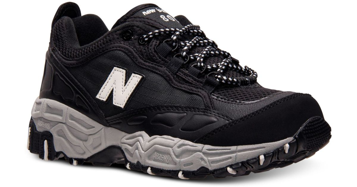 buy popular 2b840 574bb ... switzerland lyst new balance mens 801 casual sneakers from finish line  in black for men 351f4