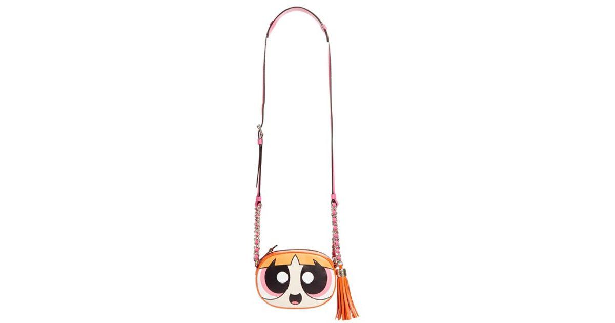45c13309f03 Moschino 'the Powerpuff Girls - Blossom' Canteen Crossbody Bag in Pink -  Lyst