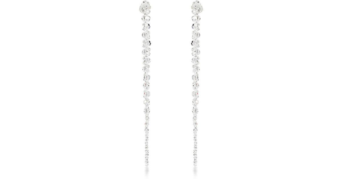 Simone Rocha Crystal-embellished earrings 64GhUmrJ