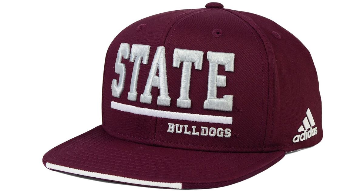 Mississippi State Maroon Adidas Shoes