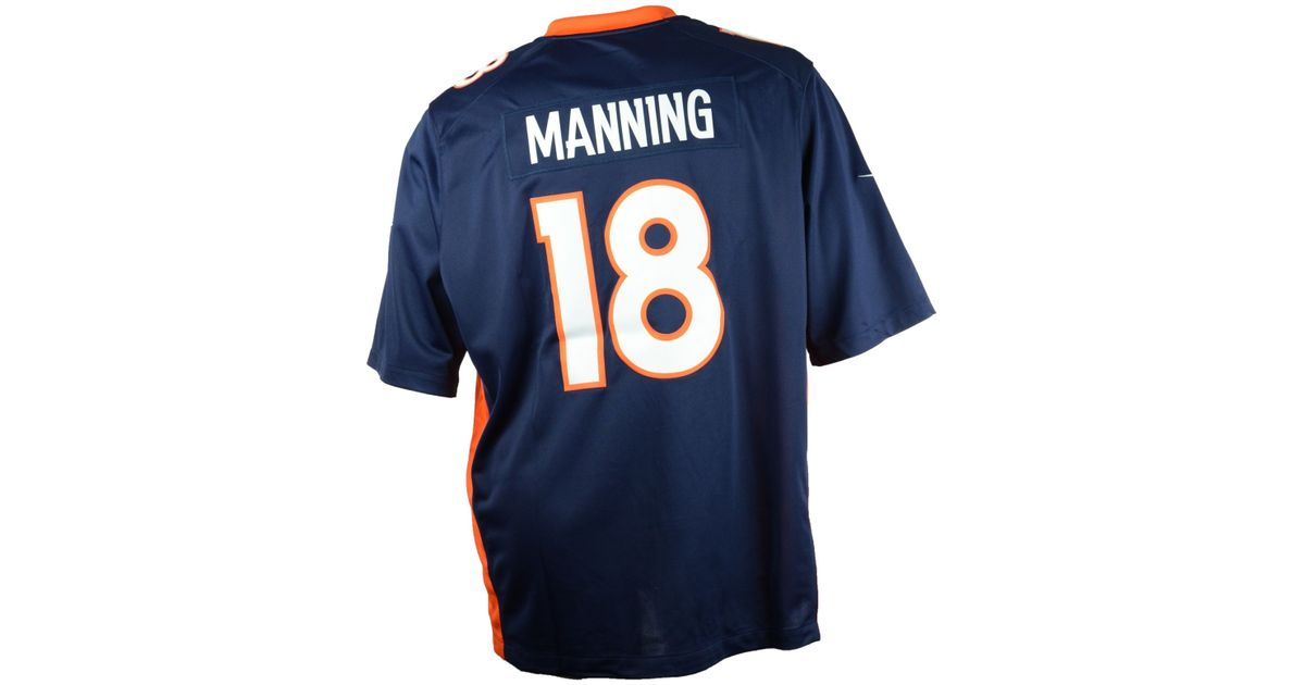 New Lyst Nike Big And Tall Peyton Manning Denver Broncos Limited