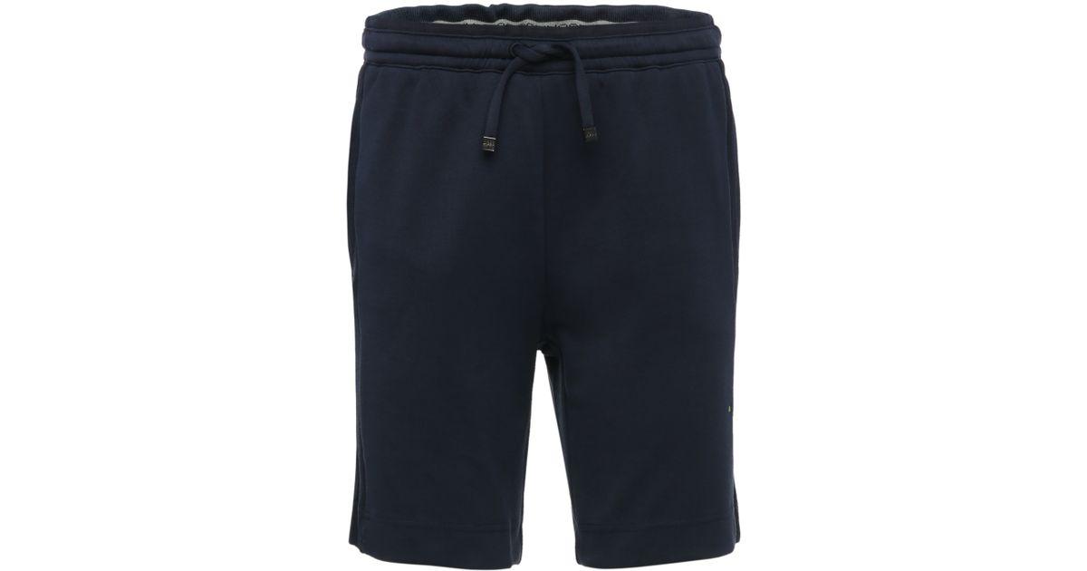 cdc4fa90f Boss Green Short Tracksuit Bottoms: 'headlo' in Blue for Men - Lyst