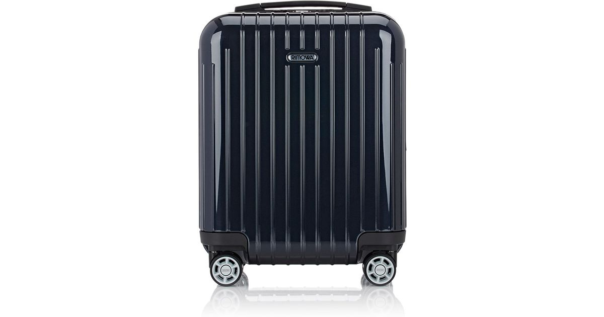 rimowa salsa air mini suitcase in black lyst. Black Bedroom Furniture Sets. Home Design Ideas