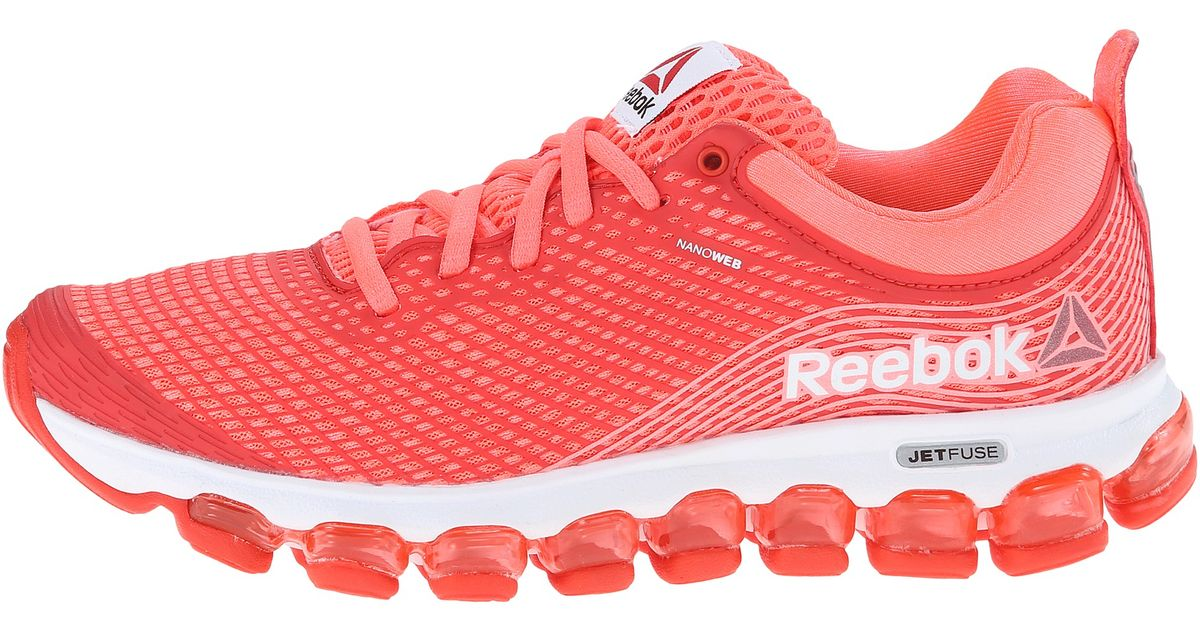 85552e108f79 ... women orange Lyst - Reebok Z Jet in Pink ...