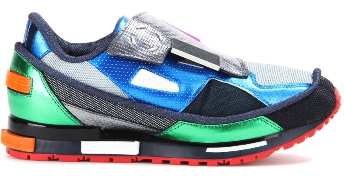best service 618c8 4f3e4 Adidas By Raf Simons Gray Men'S Multicolour Rising Star 2 Sneakers