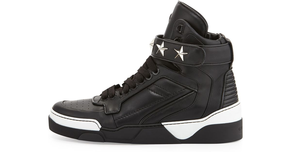 For Tyson Top Men Sneaker Givenchy Black Star High H2ED9I