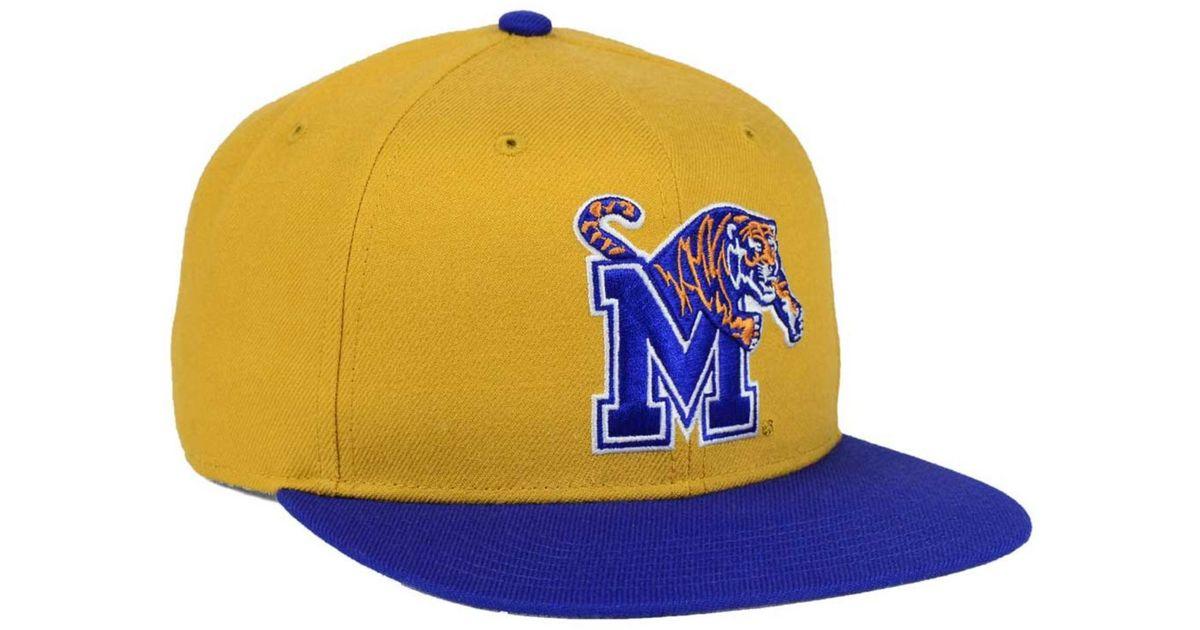 cf8c326b4 47 Brand Natural Memphis Tigers Sure Shot Snapback Cap for men