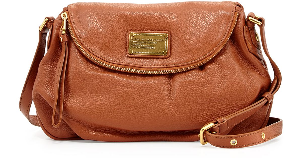 c58ccd9a8831 Lyst - Marc By Marc Jacobs Classic Q Natasha Crossbody Bag Smoked Almond in  Brown