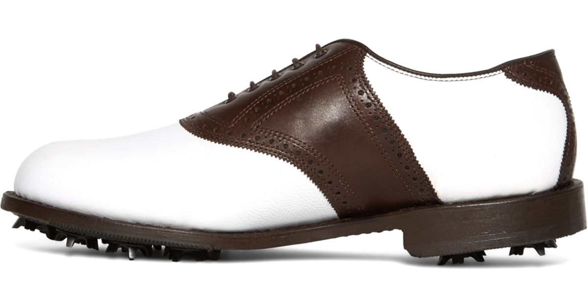 26975b01663fc Brooks Brothers Redan Golf Shoes in Brown for Men - Lyst