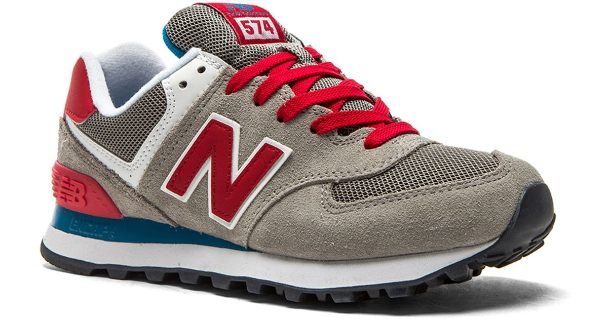 uk availability 77f0a abc7f New Balance Gray 574 Core Plus Collection Sneaker