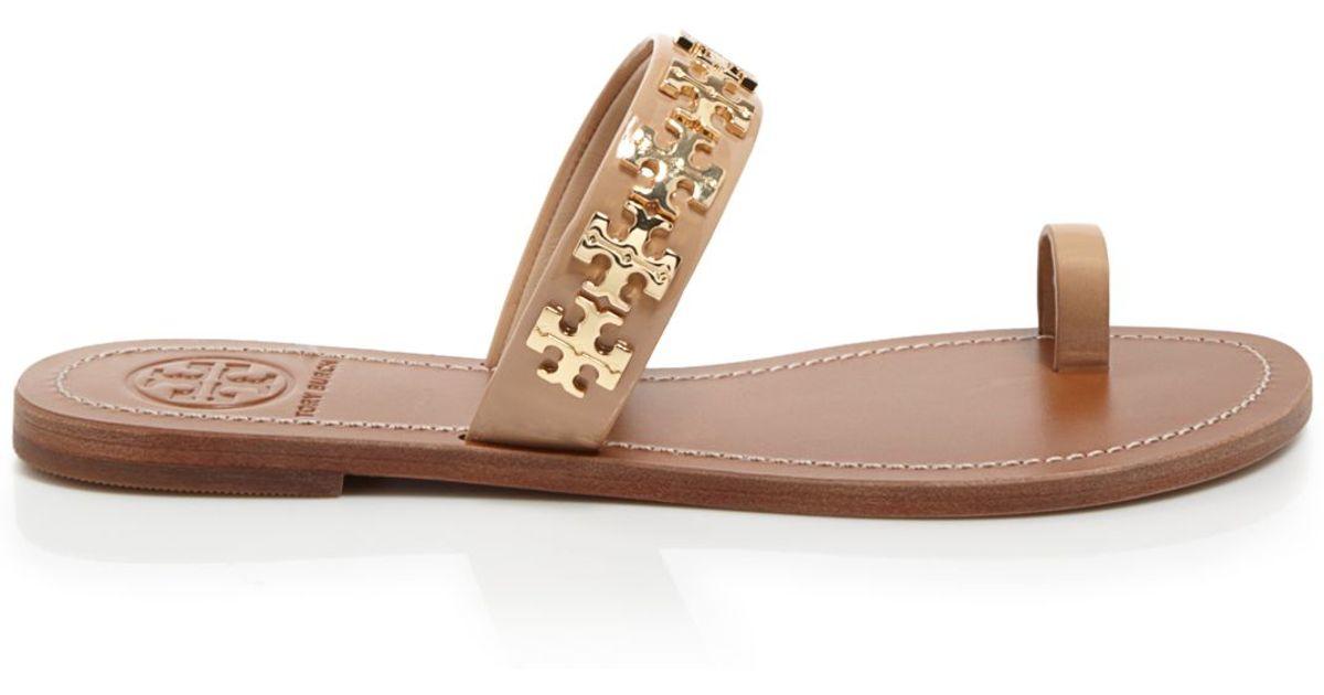 Tory Burch Logo sandals 8ZZHNM
