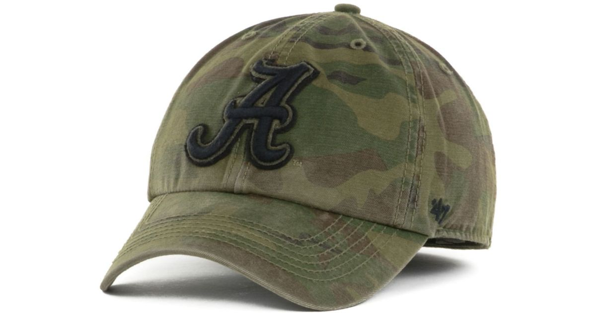 122bd6d76ce71 ... germany lyst 47 brand alabama crimson tide movement franchise cap in  green for men 12a2d 12a06