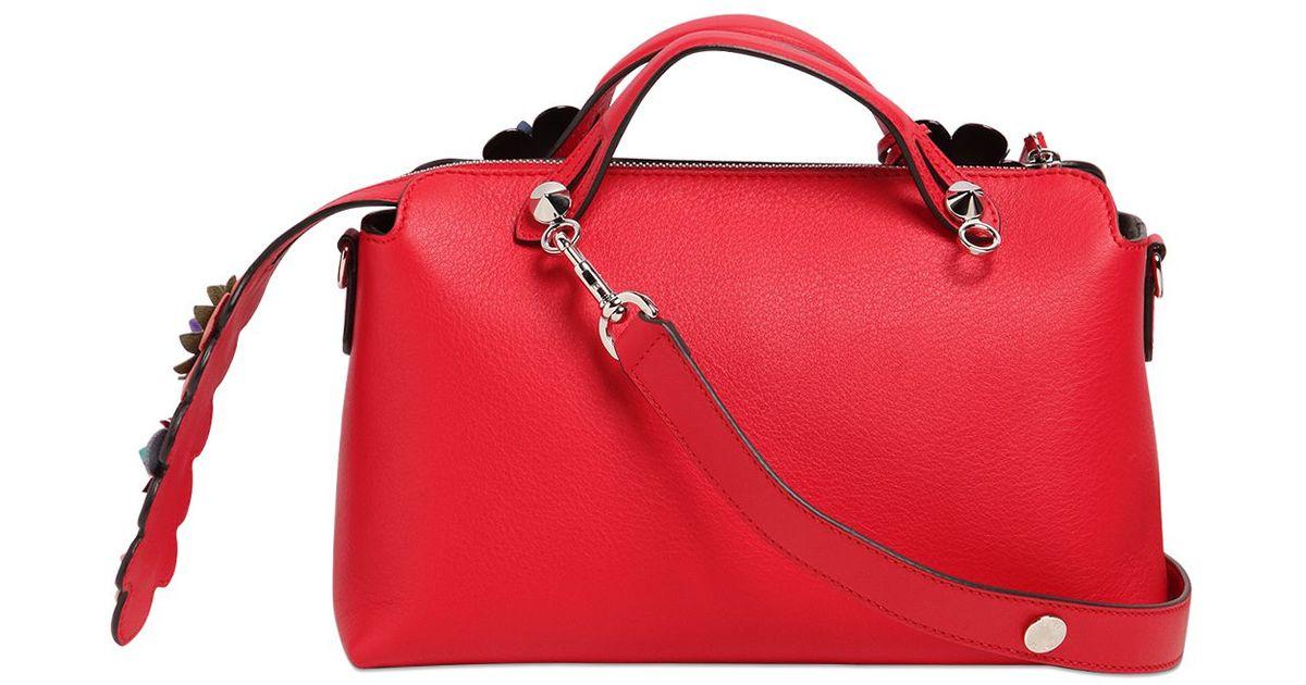 ... canada lyst fendi by the way small cross body bag in red ba998 a5078 2258c31414eab