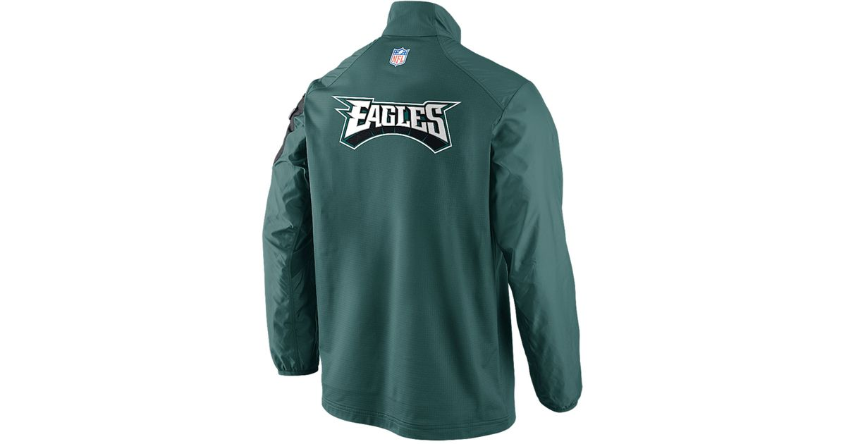 Lyst - Nike Men S Philadelphia Eagles Defender Hybrid Half-Zip Jacket in  Blue for Men 0d8ca8f88