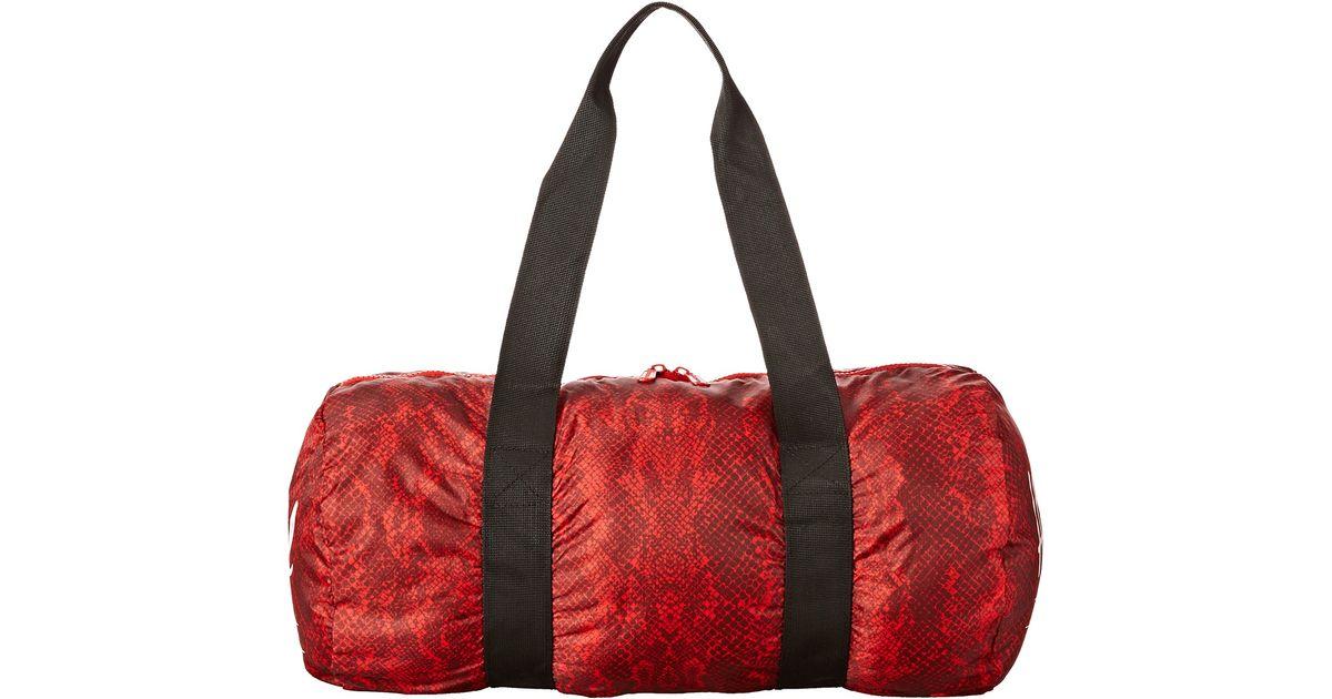 0b9c3c36c840 Lyst - Herschel Supply Co. Packable Duffle Bag in Red