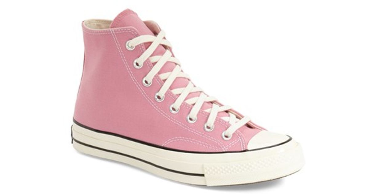 ... Lyst - Converse Chuck Taylor All Star 70 High Sneaker in Pin wholesale  outlet 91b9c 9e67c ... 4ce258f22