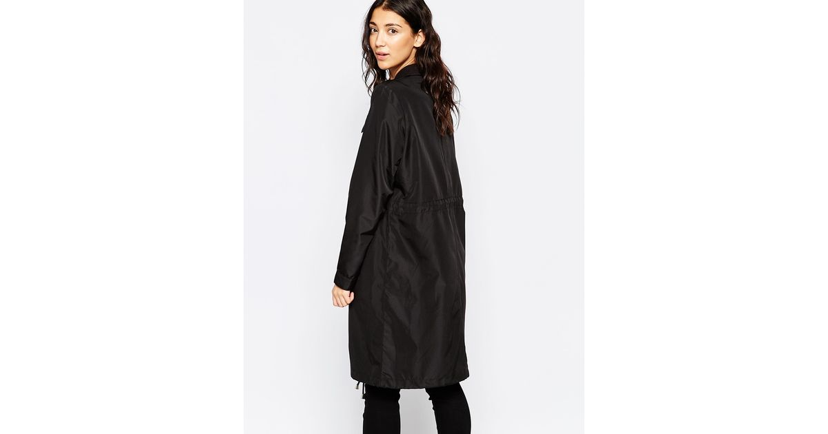 This is an image of Adaptable Brave Soul Black Label Wool Coat
