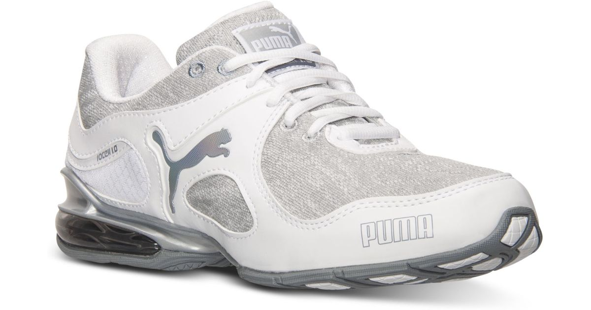 Lyst - PUMA Women S Cell Riaze Running Sneakers From Finish Line in White abb90da05