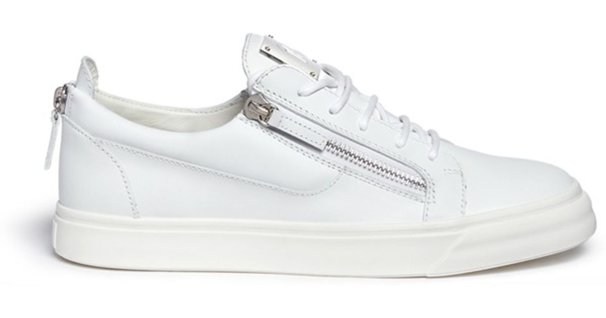 Black and white May Lond sneakers Giuseppe Zanotti