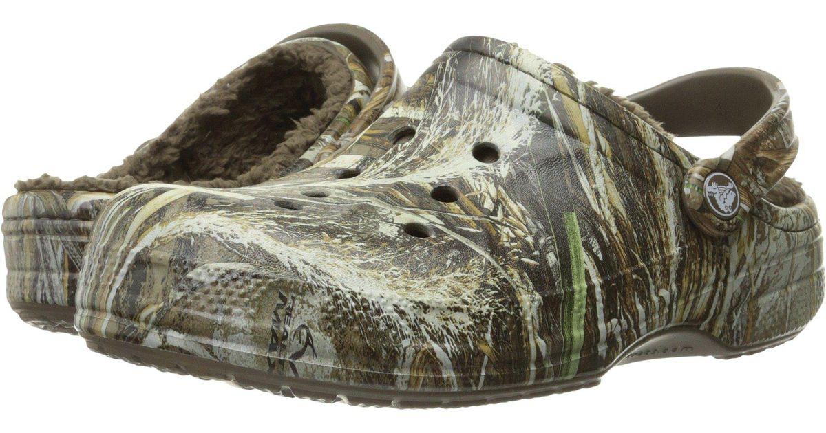 31035b603cec Lyst - Crocs™ Winter Realtree Max5 Clog