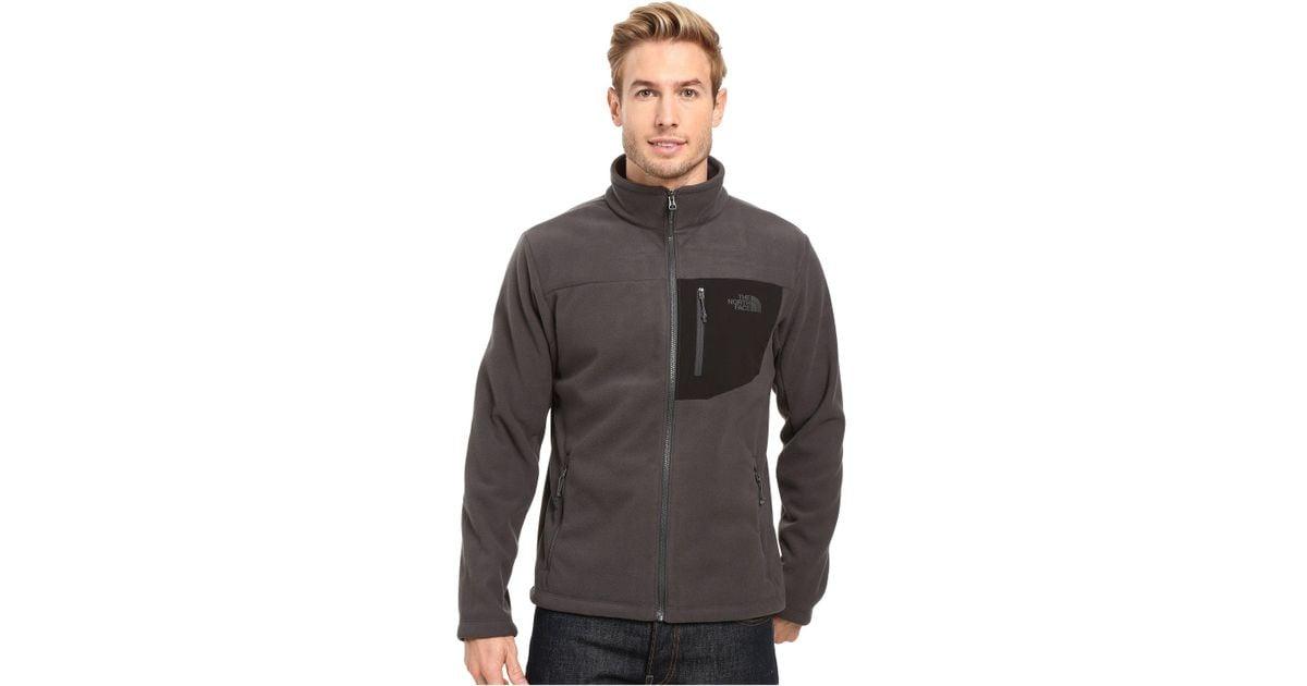 Lyst - The North Face Chimborazo Full Zip Fleece in Gray for Men 650eb71d838b